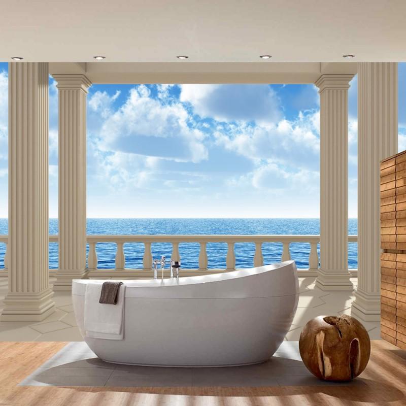 3d fototapete strand sl72 hitoiro. Black Bedroom Furniture Sets. Home Design Ideas