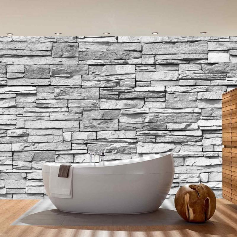 steinoptik tapete grau alles ber wohndesign und m belideen. Black Bedroom Furniture Sets. Home Design Ideas