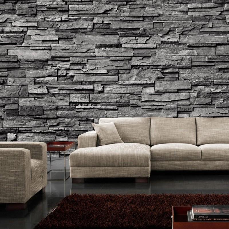 steinwand. Black Bedroom Furniture Sets. Home Design Ideas
