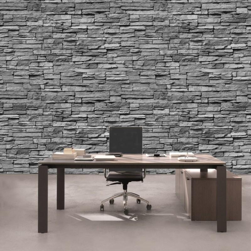 Liwwing r vlies fototapete asian stone wall no 2 - Fototapete asia ...