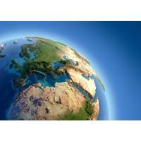 Fototapete Welt Tapete Erde Weltraum Planet Blau blau | no. 230