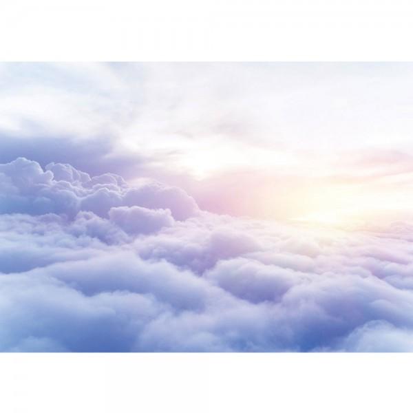 Fototapete Himmel Tapete Wolken Sonne Sonnenaufgang weiß | no. 2928