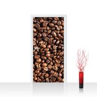 Türtapete - Kaffee Kaffeebohnen Braun Aromatisch | no. 176