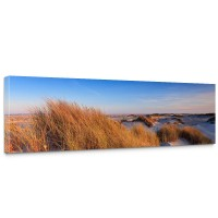 Leinwandbild Strand Düne Wasser Beach Ausblick | no. 246