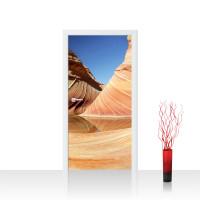 Türtapete - Sand Düne Wüste Urlaub Sonne | no. 233