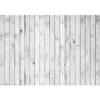 Fototapete White painted Wooden Wall Holz Tapete Holzoptik Holzwand Holzpaneel weißes Holz weiß | no. 85