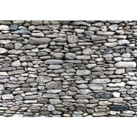 Fototapete Rocky Stone Wall Steinwand Tapete Steinwand Steinoptik Stein Steine Wand Wall 3D braun | no. 72