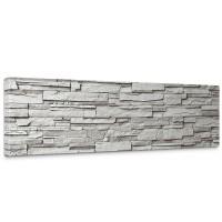 Leinwandbild Noble Grey Stone Wall Steinwand Steine Wand Wall   no. 19
