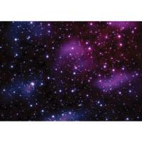 Fototapete Sternenhimmel Tapete Galaxy Sterne Weltraum lila | no. 499