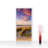 Türtapete - Strand Düne Sonnenuntergang Beach Sand | no. 245