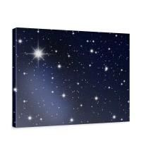 Leinwandbild A Million Stars Sternenhimmel Stars Sterne Leuchtsterne Nachthimmel | no. 28