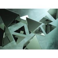Fototapete Kunst Tapete Abstrakt Hindergrund Dreieck braun | no. 216