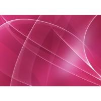 Fototapete Kunst Tapete Abstrakt Wellen Entspannung Pink grau | no. 211