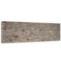 Leinwandbild Royal Stone Wall Steinwand Steine Wand Wall 3D Effekt alte Mauer | no. 82