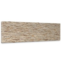 Leinwandbild Asian Brick Stone Wall Kleine Steine Asia Steine Asian Stone Wall | no. 78