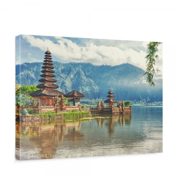 Leinwandbild Bali Tempel Wasser Natur   no. 248
