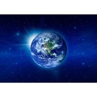 Fototapete Welt Tapete Erde Weltraum Planet Blau rosa | no. 231