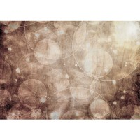 Fototapete Kunst Tapete Abstrakt Seifenblasen Entspannung Beige blau | no. 193