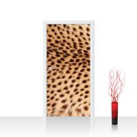 Türtapete - Leopard Tier Braun Natur | no. 181