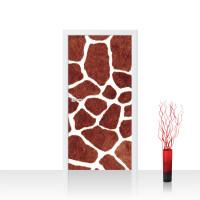 Türtapete - Giraffe Fell Muster Flecken | no. 435