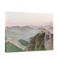 Leinwandbild China Mauer Steine Natur Ausblick | no. 251