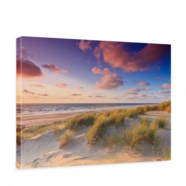 Leinwandbild Strand Düne Sonnenuntergang Beach Sand | no. 245