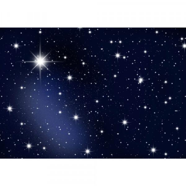 Fototapete A Million Stars Sternenhimmel Tapete Sternenhimmel Stars Sterne Leuchtsterne Nachthimmel blau | no. 28