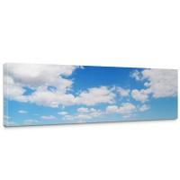 Leinwandbild Himmel Wolken Blau Romantisch Urlaub | no. 154