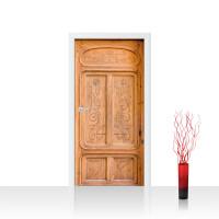 Türtapete - Sonstiges Tür Holz Muster Struktur | no. 4276