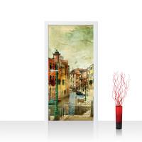 Türtapete - Venedig Italien Romantisch Gebäude | no. 257