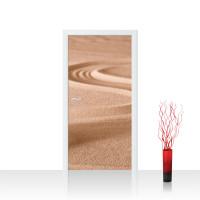 Türtapete - Sand Natur Ruhe Beige | no. 222