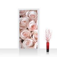 Türtapete - Blumen Rose Blüten Natur Liebe Love Blüte Rosa | no. 185