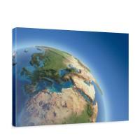 Leinwandbild Erde Weltraum Planet Blau | no. 230