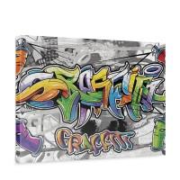 Leinwandbild Kinder Graffiti Dosen Schriftzug | no. 675