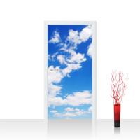 Türtapete - Himmel Wolken Blau Romantisch Urlaub | no. 154