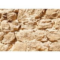 Fototapete Rock Stone Wall Steinwand Tapete Steinwand Steinoptik Stein Steine Wand Wall beige | no. 25