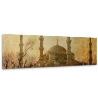 Leinwandbild Istanbul Moschee Abstrakt Beige | no. 267
