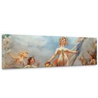 Leinwandbild classical Fresco - Cahors Theater Kunst Wandgemälde Wandmalerei | no. 96