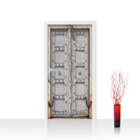 Türtapete - Sonstiges Tür Holz Antik Alt Kette | no. 4283