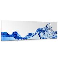 Leinwandbild Ozean Meer Wasser See Welle Sturm Blau Türkis | no. 153