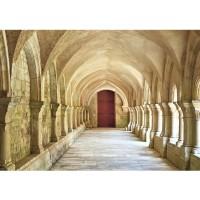 Fototapete Colonnaded Arcades Architektur Tapete Arkaden 3D Perspektive Gewölbe Säulen Spanien beige | no. 65