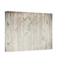 Leinwandbild weathered wood plank Holzoptik Holzwand, Holzpaneel, weißes Holz | no. 91