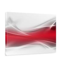 Leinwandbild Ornament abstrakt Wand Rot Hintergrund | no. 214