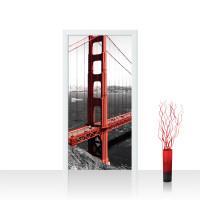 Türtapete - Golden Gate Bridge Wasser   no. 429
