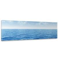 Leinwandbild Ozean Meer Wasser See Welle Sturm Blau Türkis | no. 152