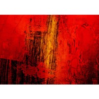 Fototapete Paint it Red Ornamente Tapete abstrakt 3D Wand Rot braun Hintergrund rot | no. 103