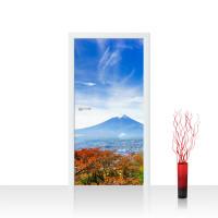 Türtapete - Japan Tokio Turm Herbst Himmel Ausblick | no. 261