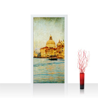 Türtapete - Venedig Kanal Italien Stadt Wasser | no. 228