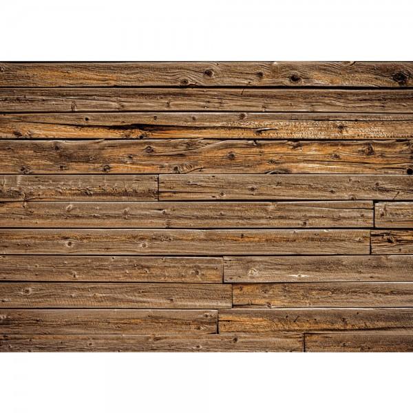Fototapete Holz Tapete Holzwand Holzoptik Kacheln braun   no. 2646