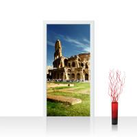 Türtapete - Rom Kolosseum Italien Landschaft Architektur | no. 249